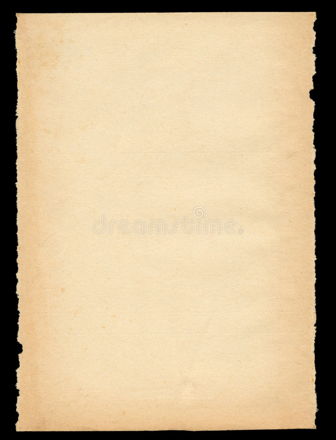 stary papier rozdarty, obraz royalty free