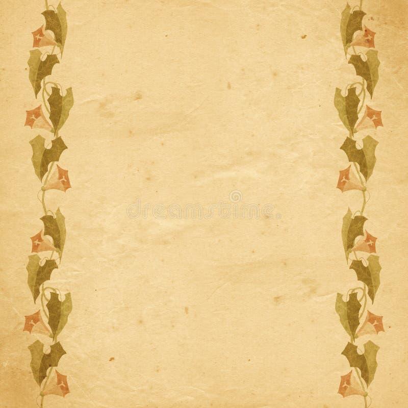 stary papier tło royalty ilustracja