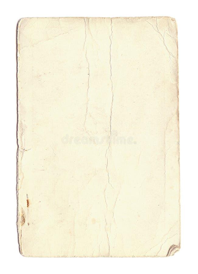 stary papier znoszone zdjęcie stock
