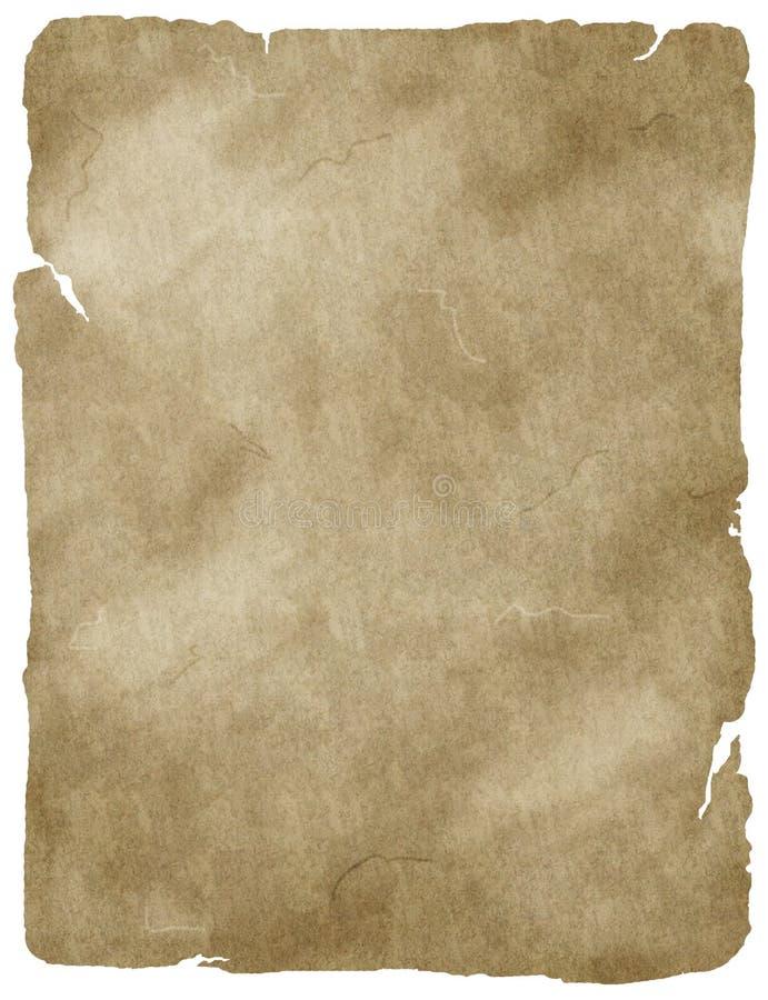 stary papierowy pergamin ilustracja wektor