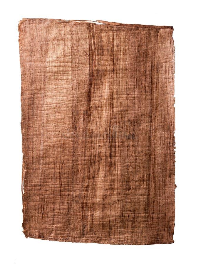 Stary papirusu papier obraz stock