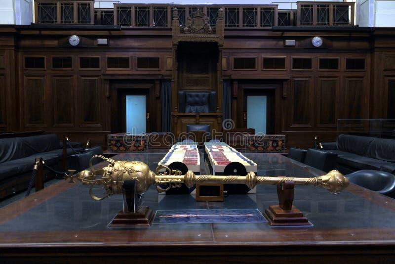 Stary parlamentu dom w Canberra strefy Australia kapitału Parlamentarnym terytorium obraz royalty free