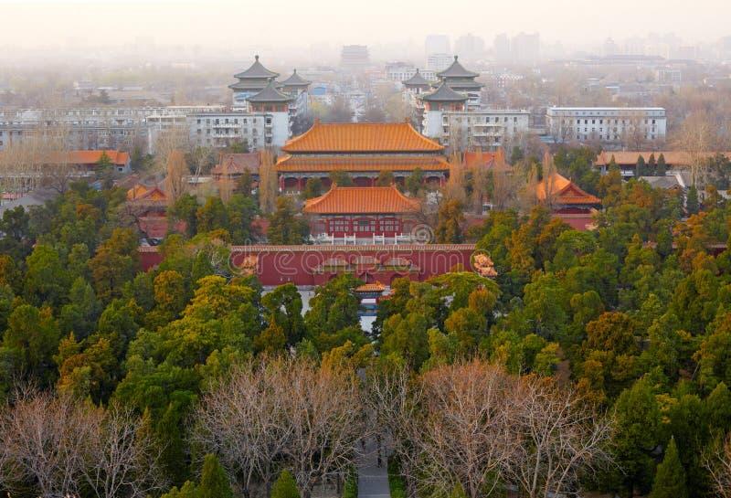 Download Stary Pekin miasto, Chiny obraz stock. Obraz złożonej z cesarz - 28953995