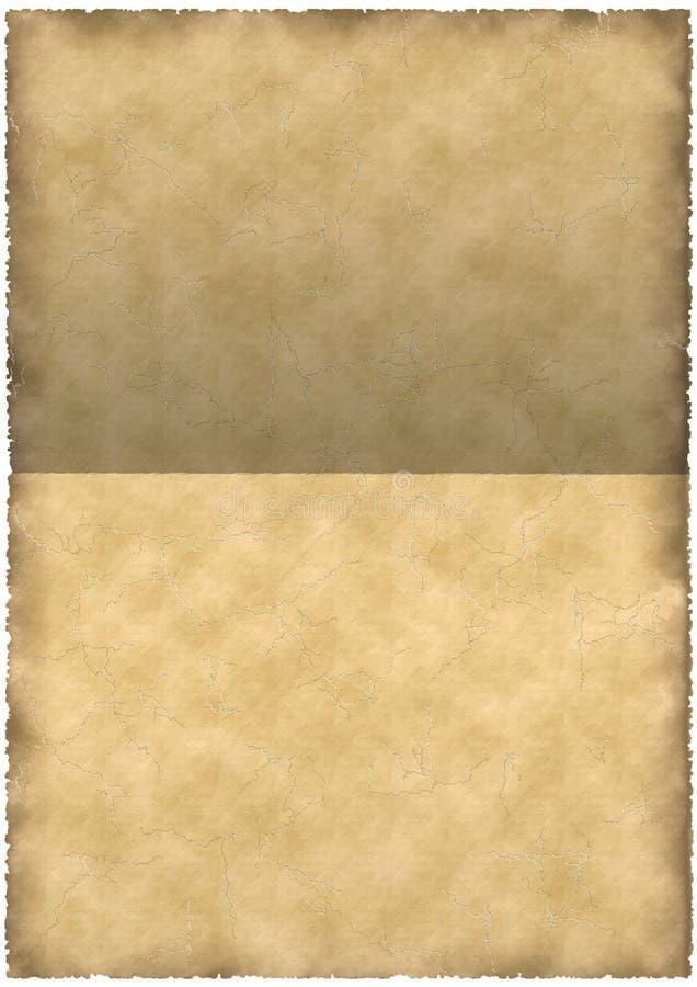 Stary pergamin obraz stock