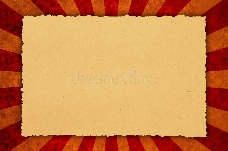 stary pergamin royalty ilustracja