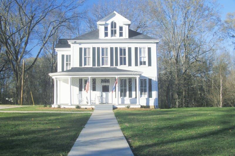 Stary Południowy dom w MS zdjęcie stock