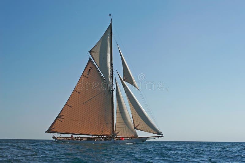 stary pożeglować łodzi obrazy stock