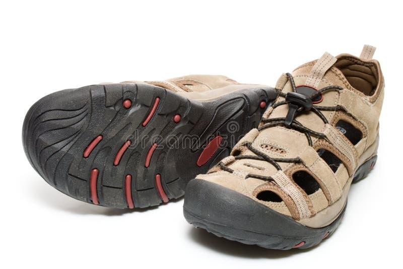 stary pojedyncze pary butów zdjęcia stock