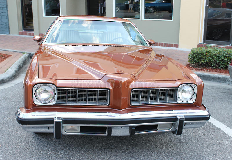 Stary Pontiac LeMans samochód zdjęcie stock