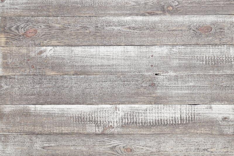 Stary popielaty drewniany tło, nieociosana drewniana powierzchnia z kopii przestrzenią fotografia stock