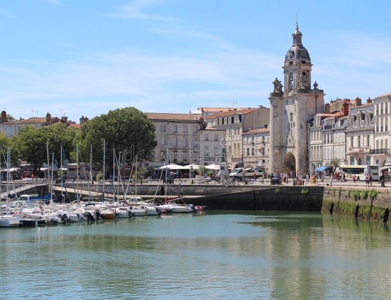 Stary port, La Rochelle obraz royalty free