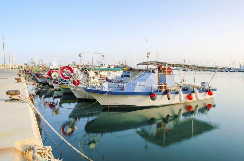 Stary port, Limassol, Cypr obraz royalty free