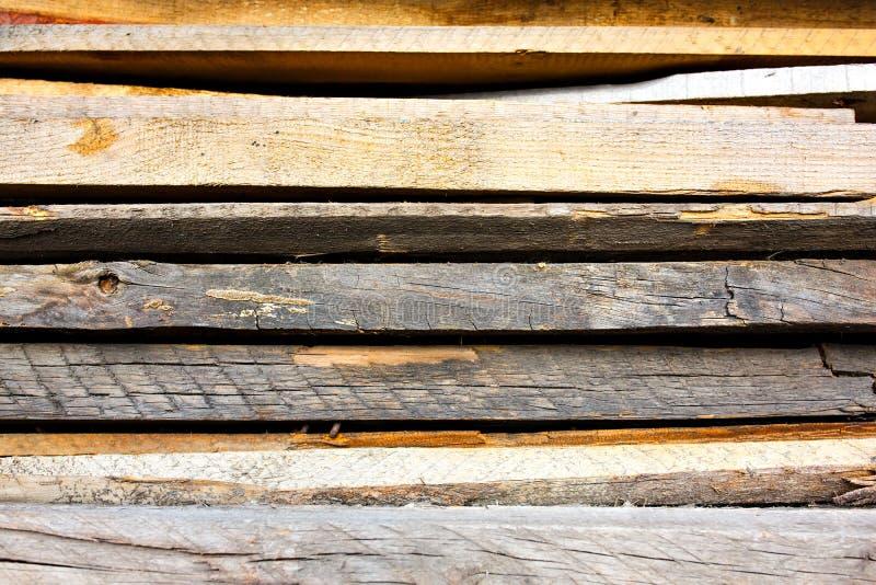 Stary, przegniły, drewniany decking, zaszaluje teksturę zdjęcia royalty free