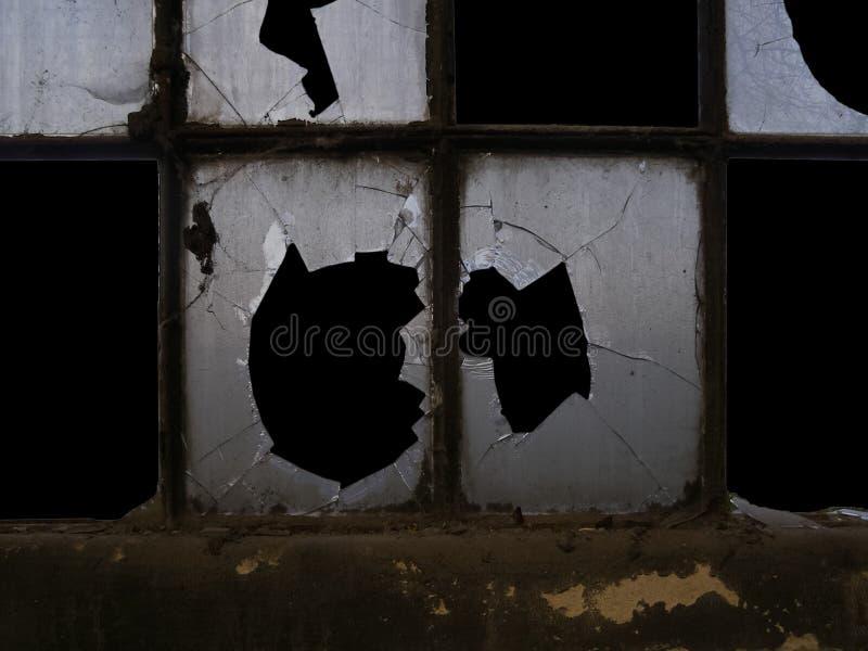 Stary Przemysłowy okno zdjęcie royalty free