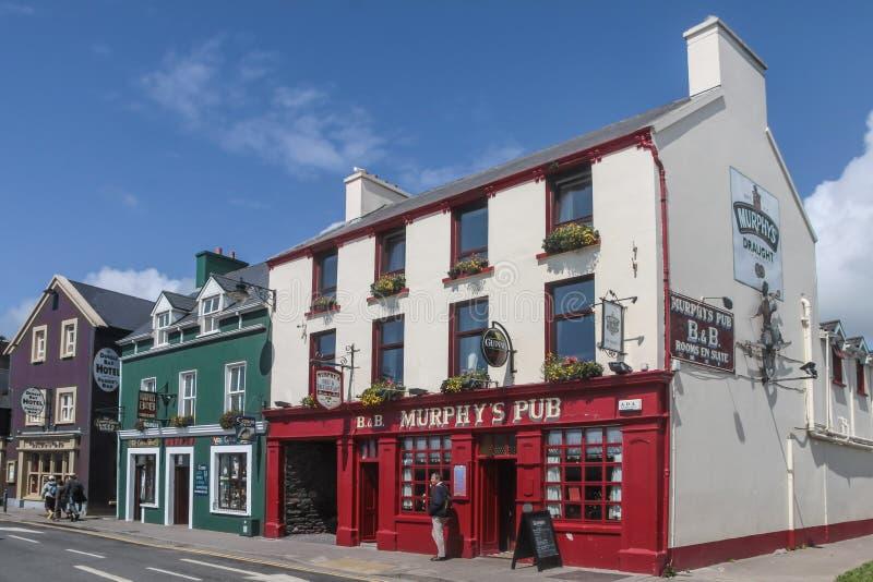Stary pub w Dingle obraz stock