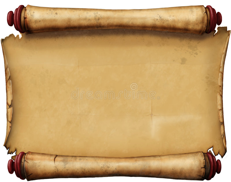 stary rękopis. ilustracja wektor