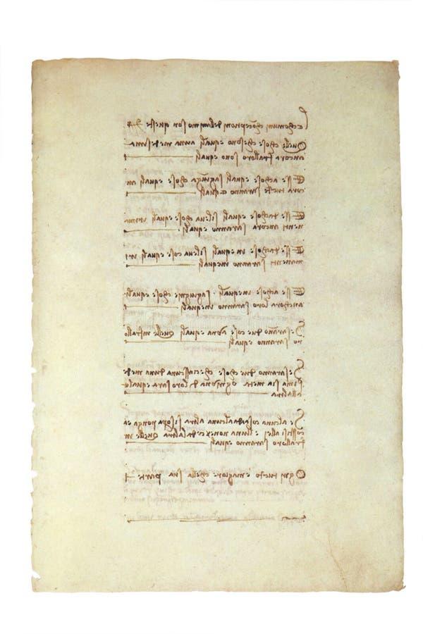 stary rękopis. zdjęcie stock