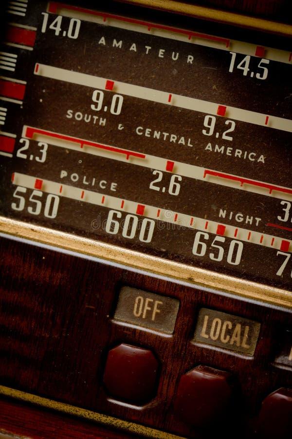 stary radio zdjęcie stock