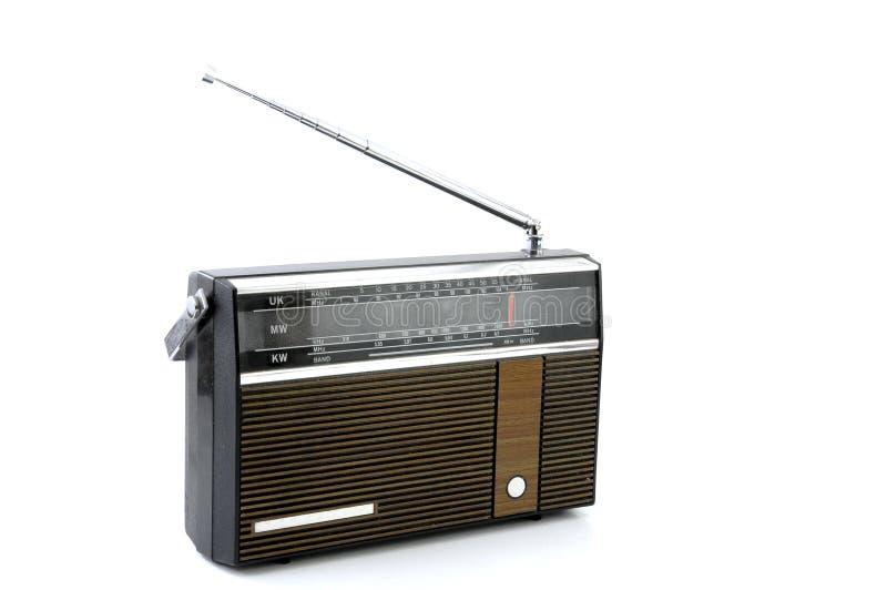 stary radio fotografia stock