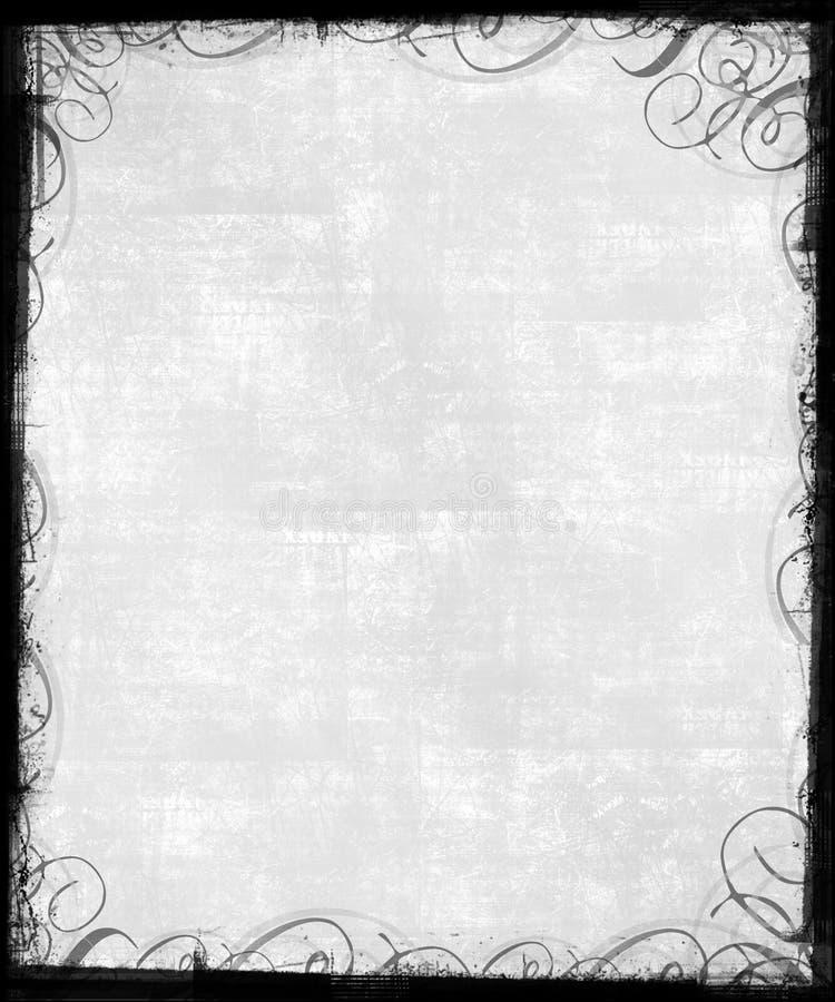 stary ramowy wiktoriańskie tło royalty ilustracja