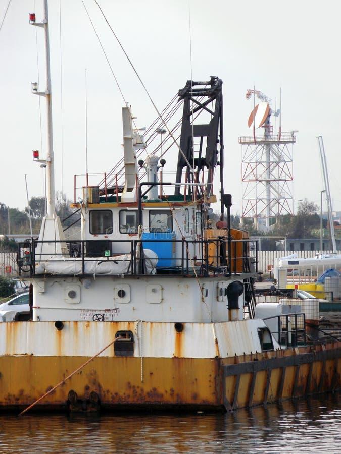 stary rdzewiejący statek zdjęcia stock