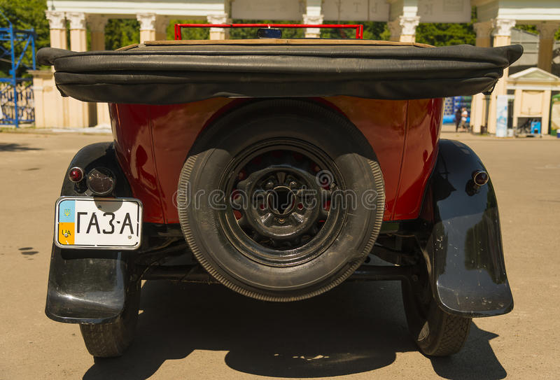 Stary retro samochód GAZ- A zdjęcia stock