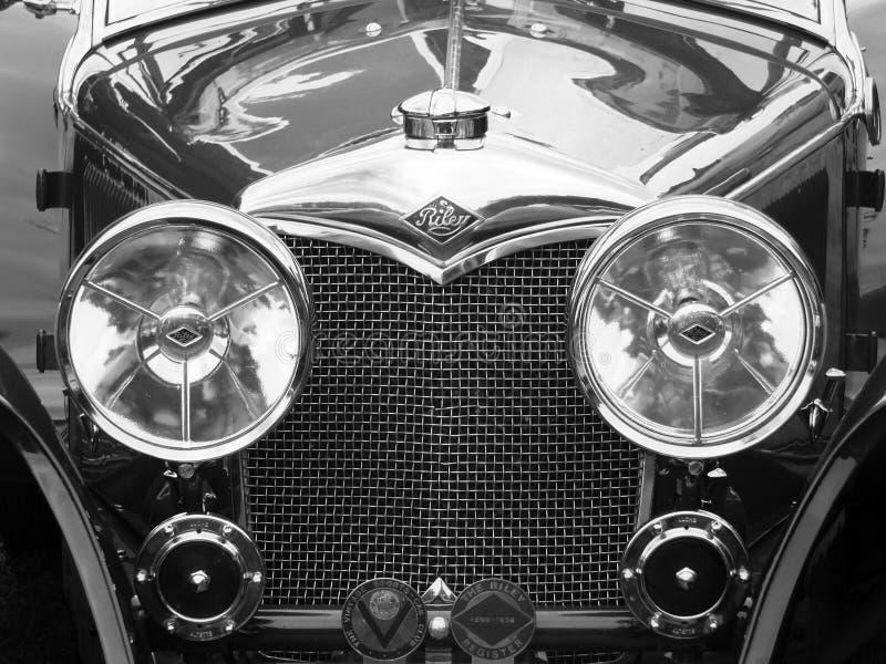 Stary Riley brytyjski motorcar obraz royalty free