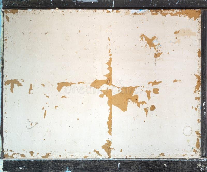 Stary rocznik drewnianej ramy tło pusty dla kopii przestrzeni obrazy stock