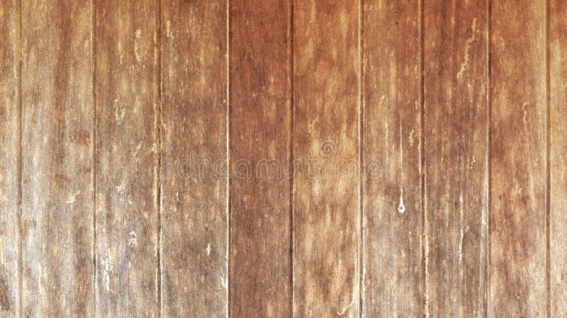 Stary rocznika drewno kasetonuje tło obraz stock