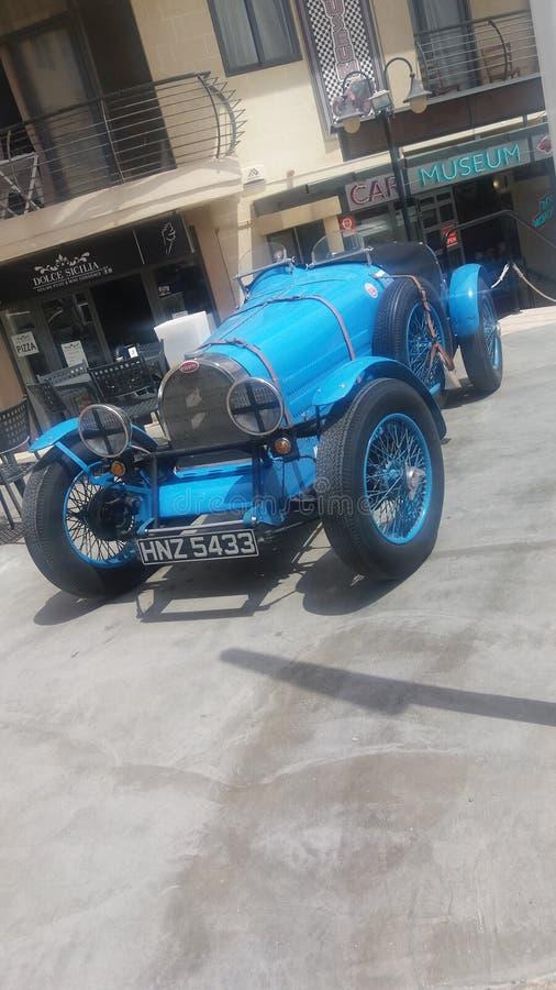 Stary rocznika samochód Malta fotografia stock