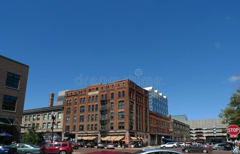 Stary rynek, Omaha, Nebraska obraz stock