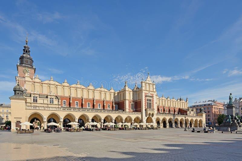 Stary rynek w Krakow, Polska obrazy stock