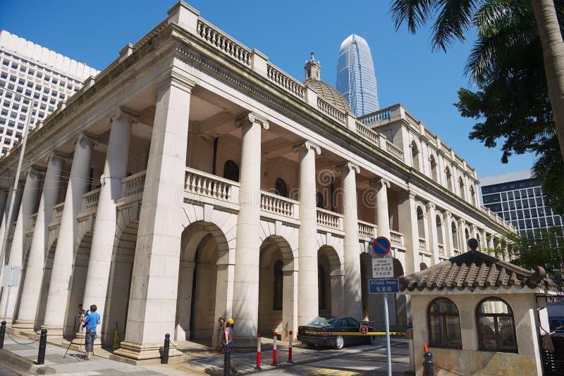 Stary sądu najwyższy budynek w Hong Kong, Chiny zdjęcia stock