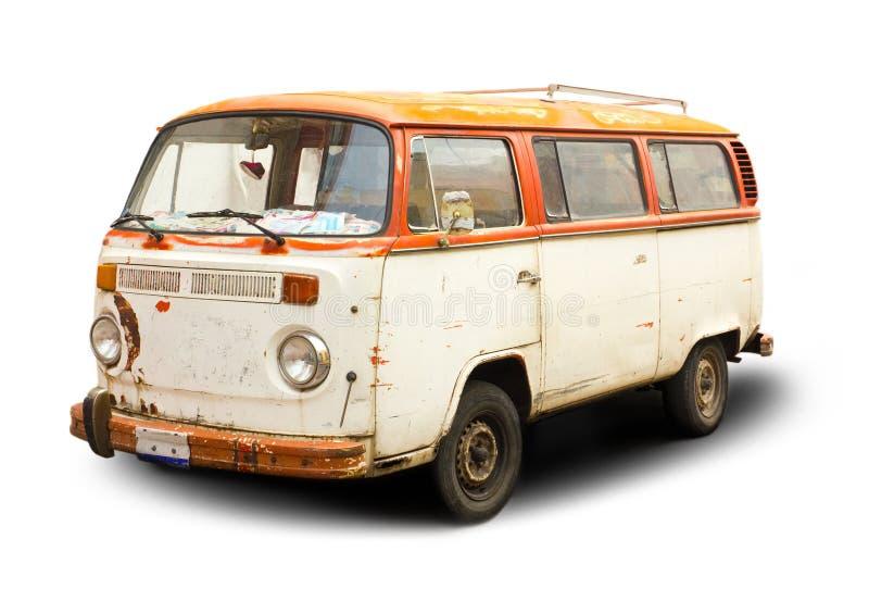 Stary samochód dostawczy obraz stock