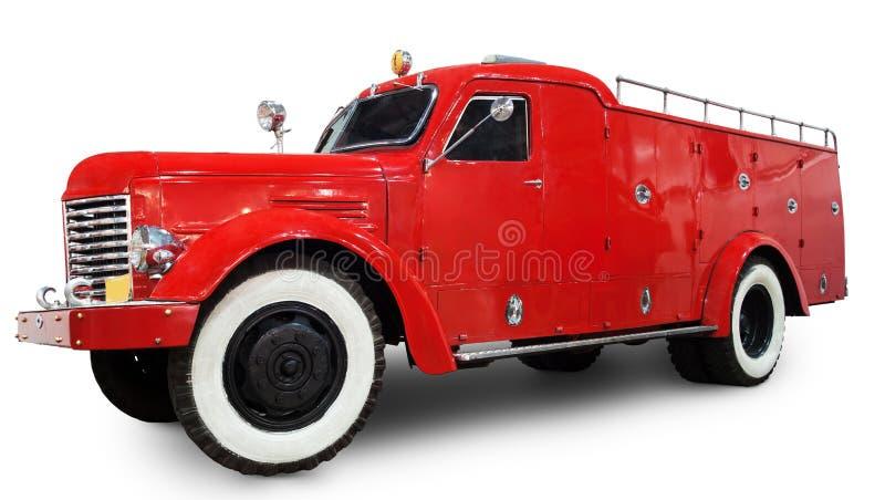 Stary samochód strażacki fotografia stock