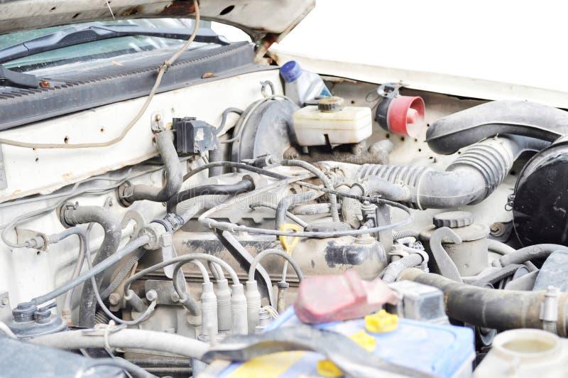 stary samochodowy silnik obraz stock