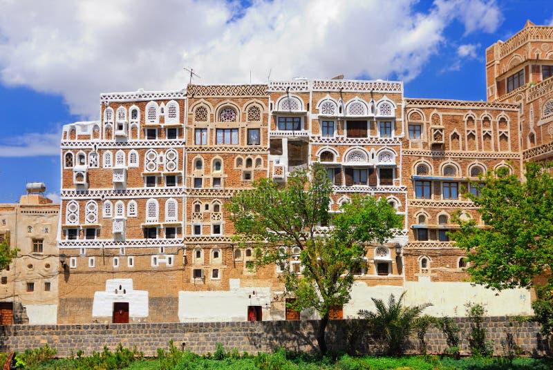 stary Sanaa Yemen fotografia royalty free
