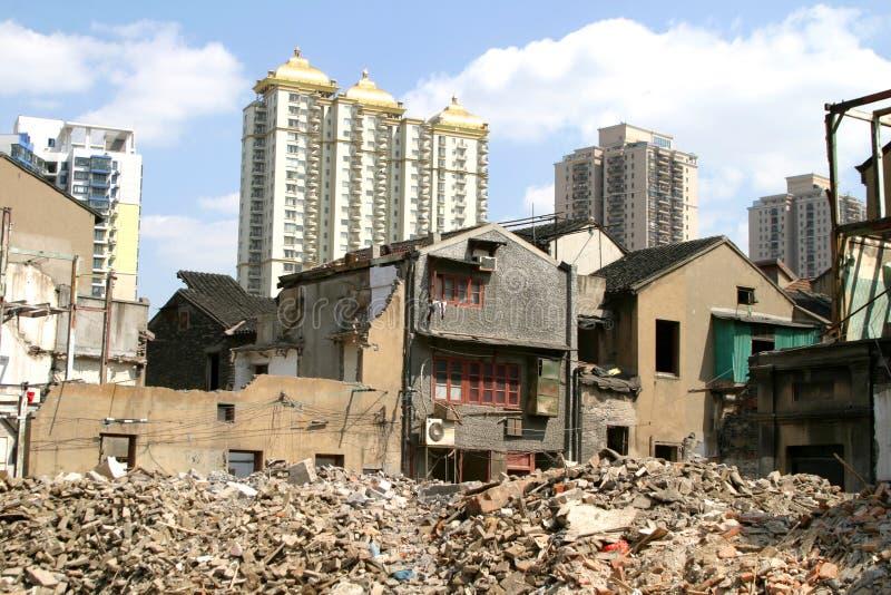 stary Shanghai chiny zdjęcia royalty free