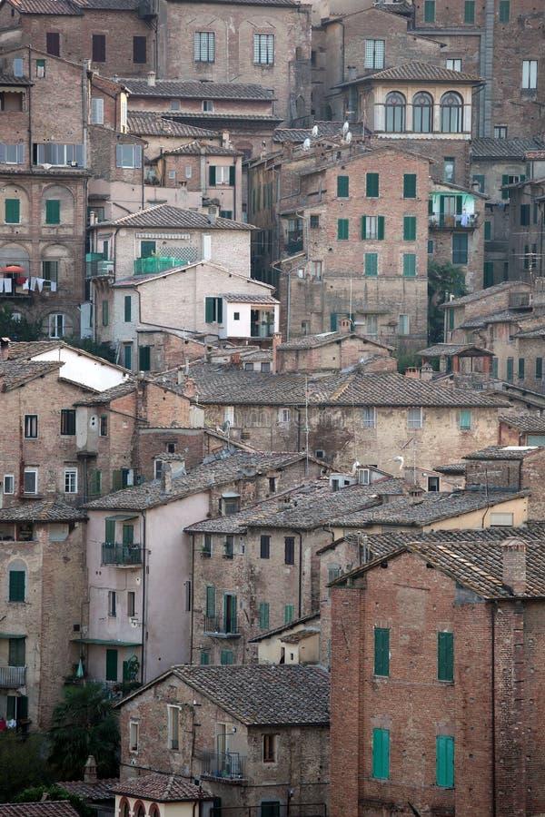 stary Siena zdjęcia royalty free