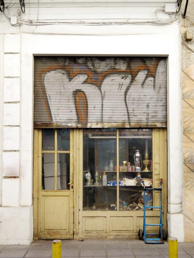 Stary sklep zdjęcie royalty free