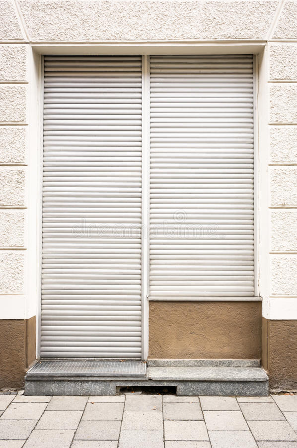 Zamknięty sklep obrazy royalty free