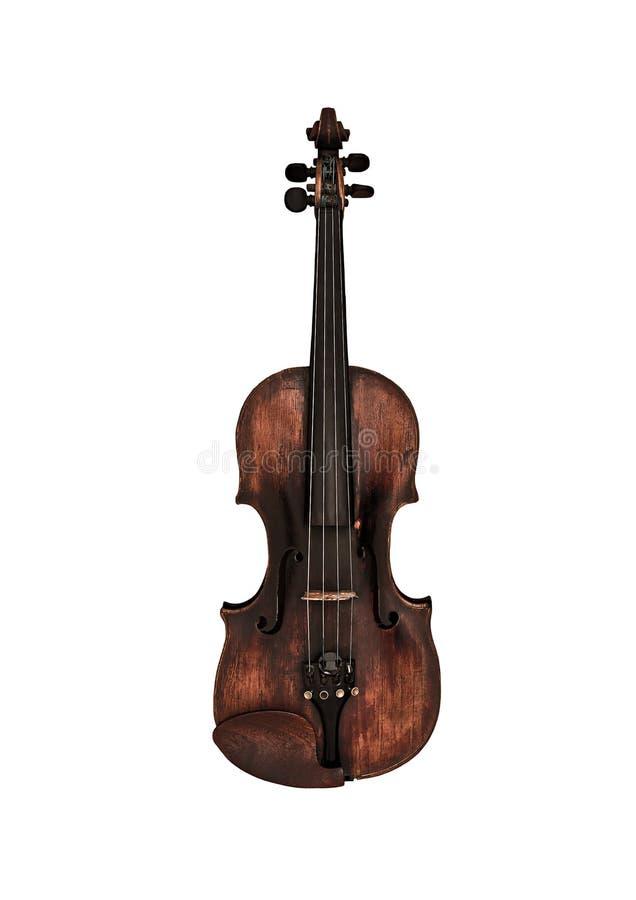 Stary skrzypce obraz royalty free