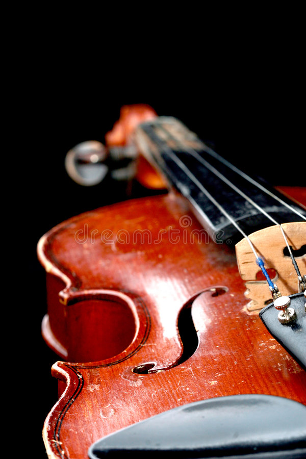 stary skrzypce. obrazy stock