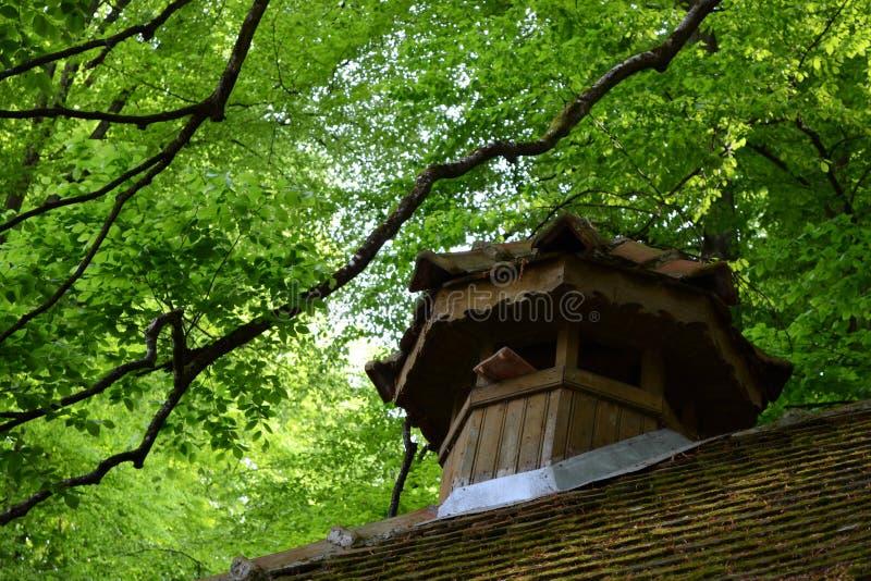 stary skylight zdjęcie stock
