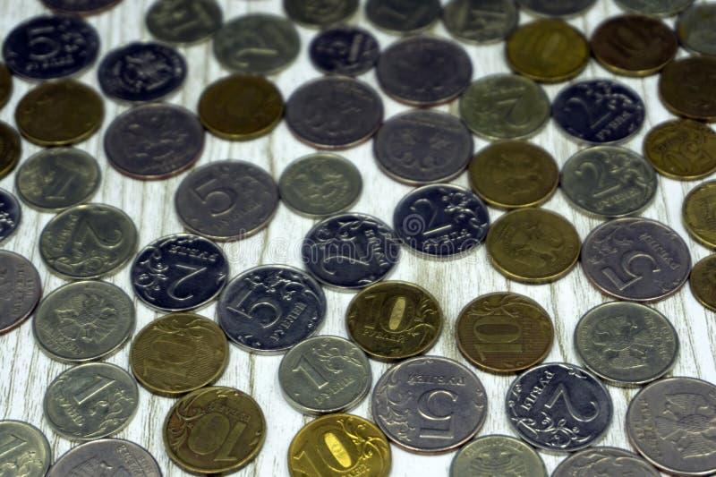 Stary sowieci i rosjanina pieniądze obraz royalty free
