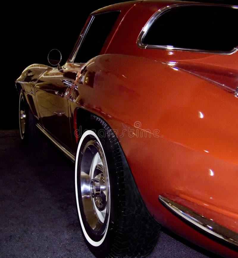 stary sportscar obraz stock
