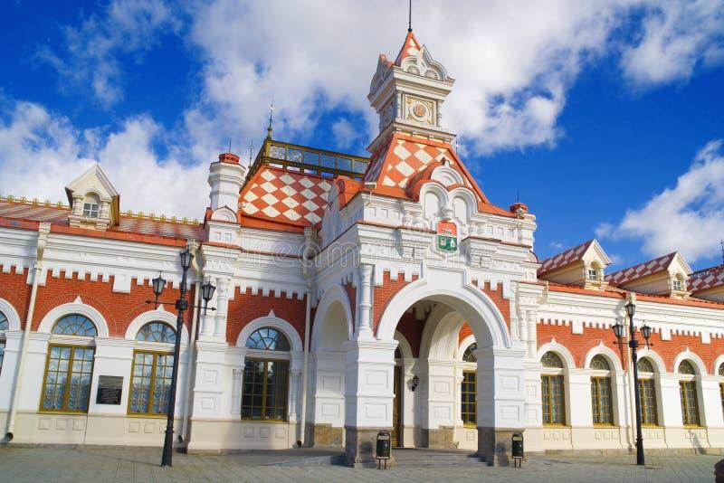 stary stacji pociągu obrazy royalty free