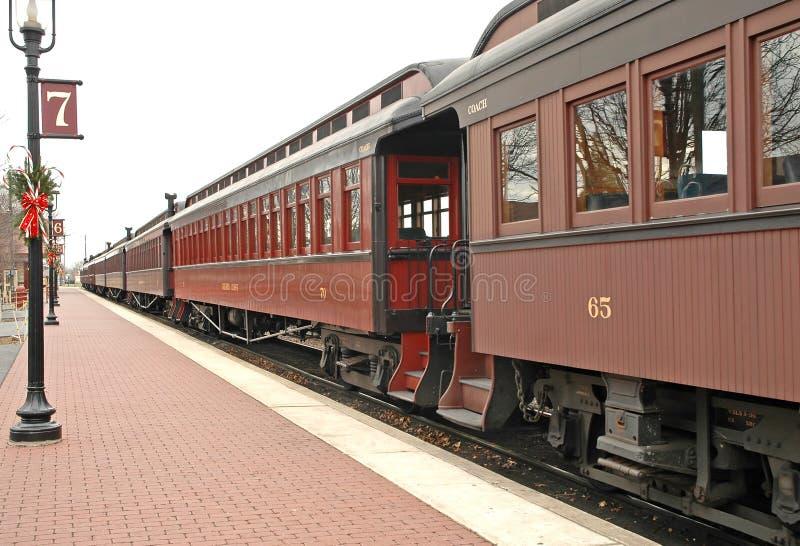 stary stacji pociągu zdjęcie royalty free