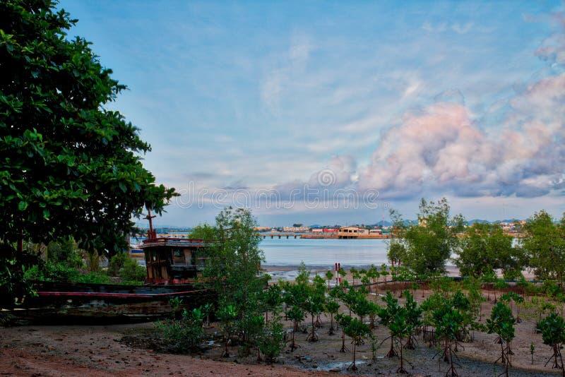 Stary statek, Pattaya, Tajlandia zdjęcie stock