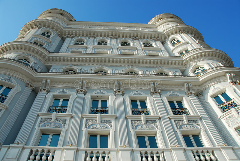 stary styl Dubaju budynku. zdjęcie royalty free